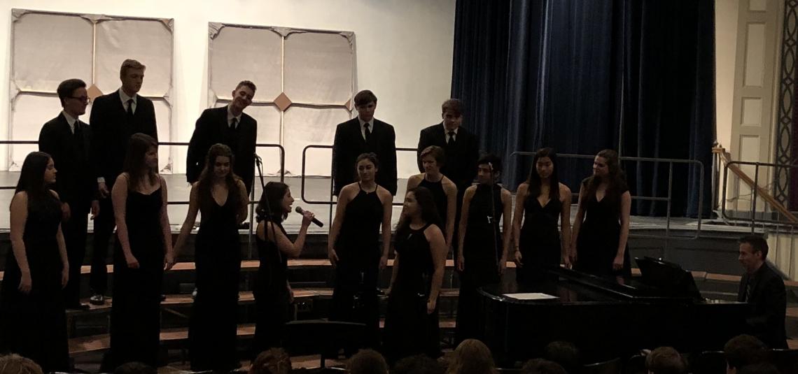 New Trier Swing Choir and Freshman Chorus