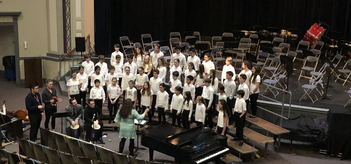Sixth Grade Music In Our Schools Concert
