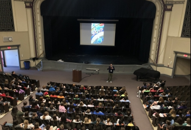 Author Visit - Andrew Smith