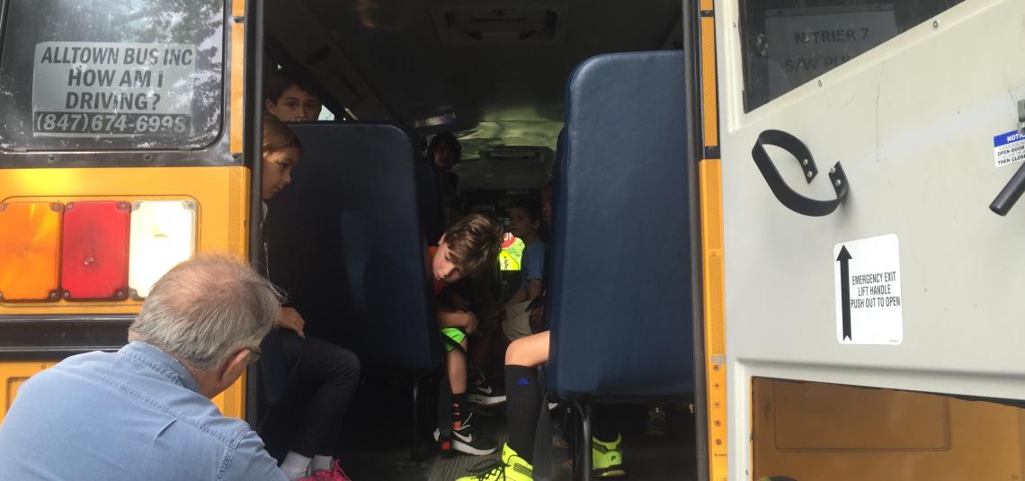 BUS EVACUATION DRILLS