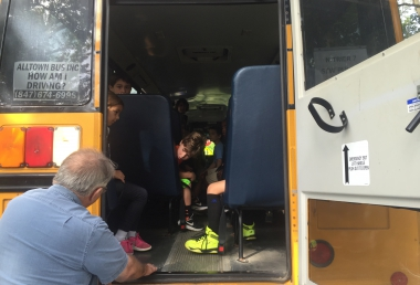 BUS EVACUATION DRILLS