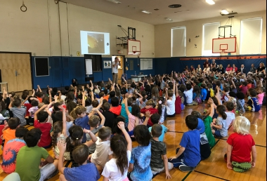AUTHOR VISIT - LOREN LONG!