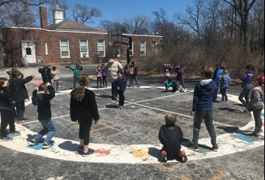 2ND GRADE RECESS FUN!