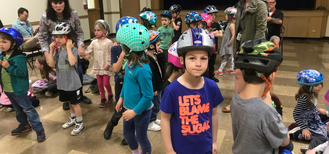 KINDERGARTEN BIKE SAFETY