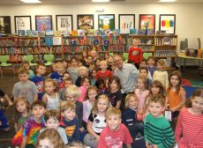 AUTHOR VISIT - DAVID BIEDRZYCKI