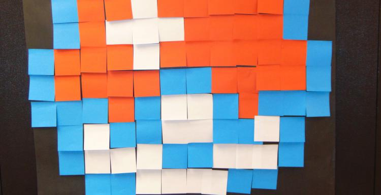 Students Reimagine Post-It Wars