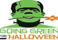 Green Halloween Photo