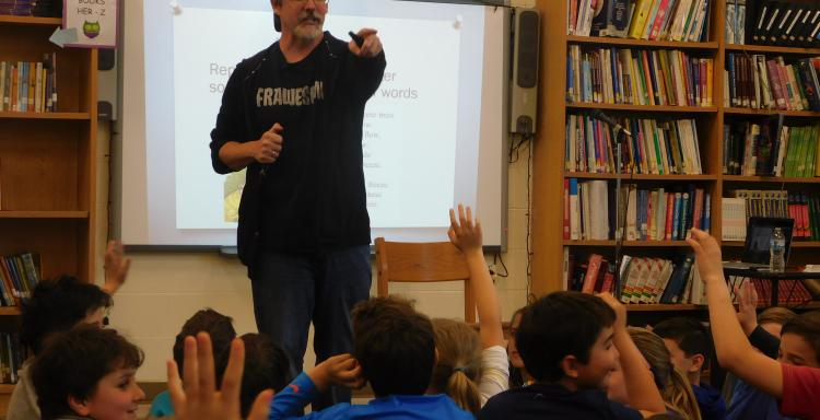 Author Visit- John David Anderson