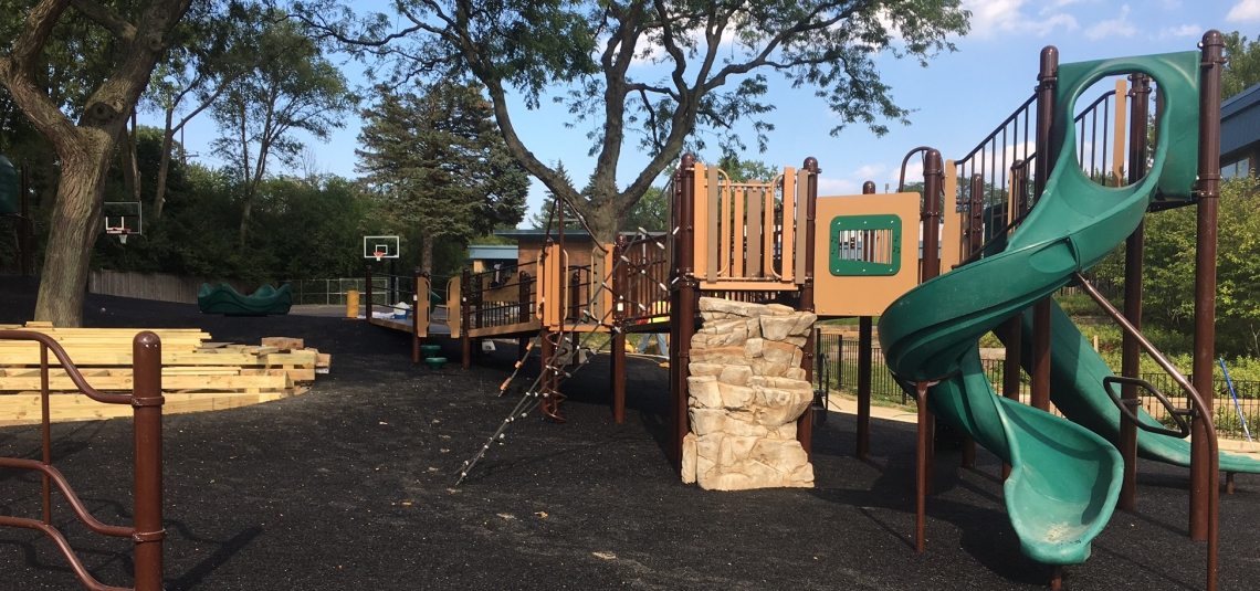 Playground Progress….things are coming together nicely!