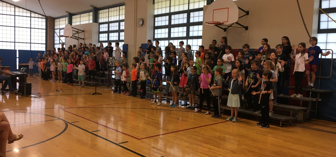 Third Grade Music, Art, and Modern Language Extravaganza!