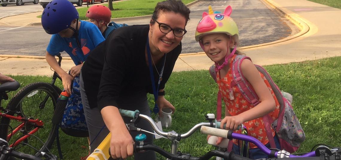 Walk or Bike to School Day 2018