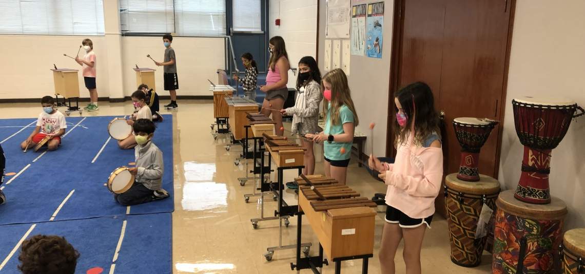 Westies at Work in Music!