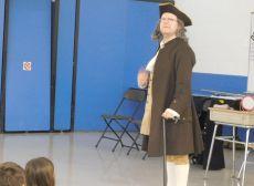 Ben Franklin visit Photo
