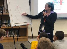 Author Visit: Gale Galleger