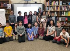 Author Visit: Gale Galleger Photo